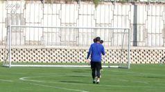 Atletico Madrid in campo, Correa: