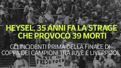 Heysel, 35 anni fa la strage che provoco' 39 morti