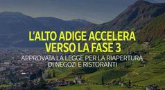 L'Alto Adige accelera verso la fase 3: ecco cosa cambia