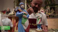 Fase 2, il tributo ai sanitari di un artigiano di San Gregorio Armeno