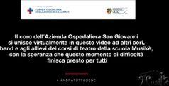 Roma, coro del San Giovanni canta