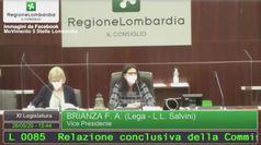 Lombardia, bagarre in Consiglio regionale: M5S chiede le dimissioni di Gallera