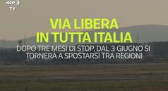 Via libera in tutta Italia agli spostamenti