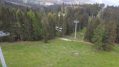 Le Dolomiti riaprono a turisti e biker, impianti in funzione
