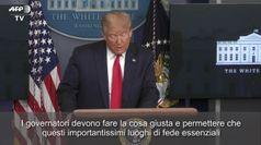 Coronavirus, Trump: