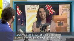 Nuova Zelanda, terremoto durante l'intervista alla premier Ardern