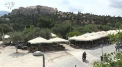 Coronavirus, in Grecia riaprono bar e ristoranti
