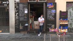 A Madrid fine del lockdown, riaprono bar e ristoranti