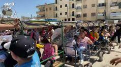 Siria, un lunapark per festeggiare la fine del Ramadan