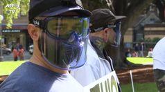 Mobilitazioni in Australia: insieme anti-lockdown, no vax e 5G