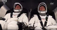 Lancio Crew Dragon Space X, il decollo
