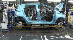 Crolla mercato dell'auto Europa, in Italia attesi aiuti governo
