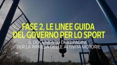 Fase 2, le linee guida del governo per lo sport