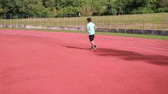 Tamberi torna ad allenarsi: