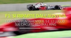 F1: si riparte dall'Austria