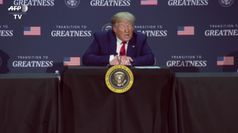 Trump difende la polizia e resta evasivo sul razzismo