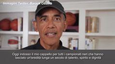 L'omaggio di Obama ai grandi giocatori afroamericani di baseball