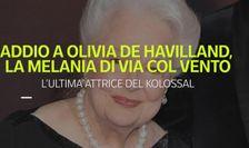 Addio a Olivia De Havilland, la Melania di Via col Vento