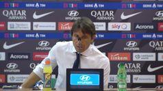 Roma-Inter, Conte: