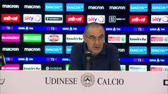 Udinese-Juve, Sarri: