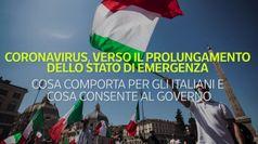 Coronovirus, verso il prolungamento dello stato d'emergenza