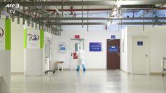 In Israele l'ospedale tecnologico che cura i malati di Covid