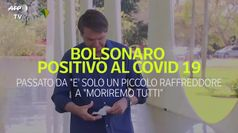 Bolsonaro positivo al Covid: quando diceva