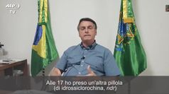Brasile, Bolsonaro difende l'idrossiclorochina: