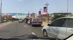 Niente benzina, il Venezuela e' a secco