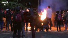 A due mesi dalla morte di George Floyd, Portland scontri tra agenti e manifestanti
