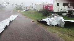 Usa, l'uragano Hanna si abbatte sul Texas