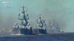 Putin mostra al mondo la sua potenza navale