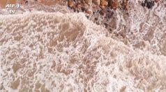 Australia, tempesta si abbatte sulla costa: a rischio diverse case