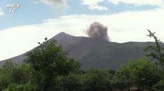 Nicaragua, il vulcano Telica sputa cenere: si teme per i raccolti