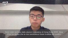 Hong Kong, Joshua Wong: