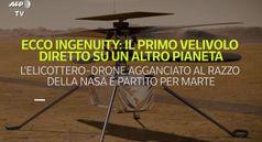 Ecco Ingenuity: il primo velivolo diretto su un altro pianeta