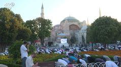 Istanbul, primo Aid in preghiera a Santa Sofia