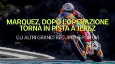 Non solo Marquez, ecco gli altri recuperi sportivi da record