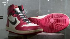 All'asta 11 paia di scarpe indossate da Michael Jordan