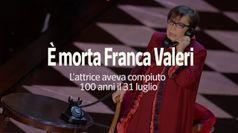 E' morta Franca Valeri: l'attrice aveva appena compiuto 100 anni