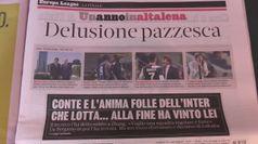 Juve, tifosi sollevati per la sconfitta dell'Inter: