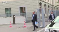 Platini in procura a Berna per il caso di corruzione Fifa