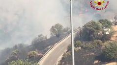 Fiamme in Sardegna: vasto incendio ad Orgosolo
