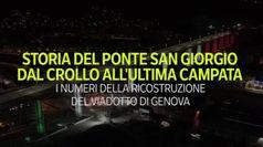 Ponte di Genova, dal crollo all'ultima campata