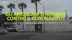Gli americani si armano contro il coronavirus