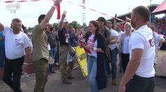 Bielorussia, 63mila in piazza per Svetlana la sfidante di Lukhashenko