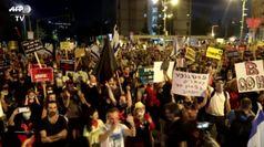 Megaprotesta a Gerusalemme, 10 mila contro Netanyahu