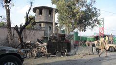 Afghanistan, le immagini della prigione distrutta dall'Isis
