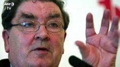 Addio al Nobel Hume, porto' la pace in Nord Irlanda
