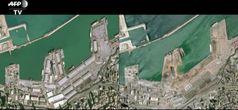 Beirut, le impressionanti immagini dal satellite